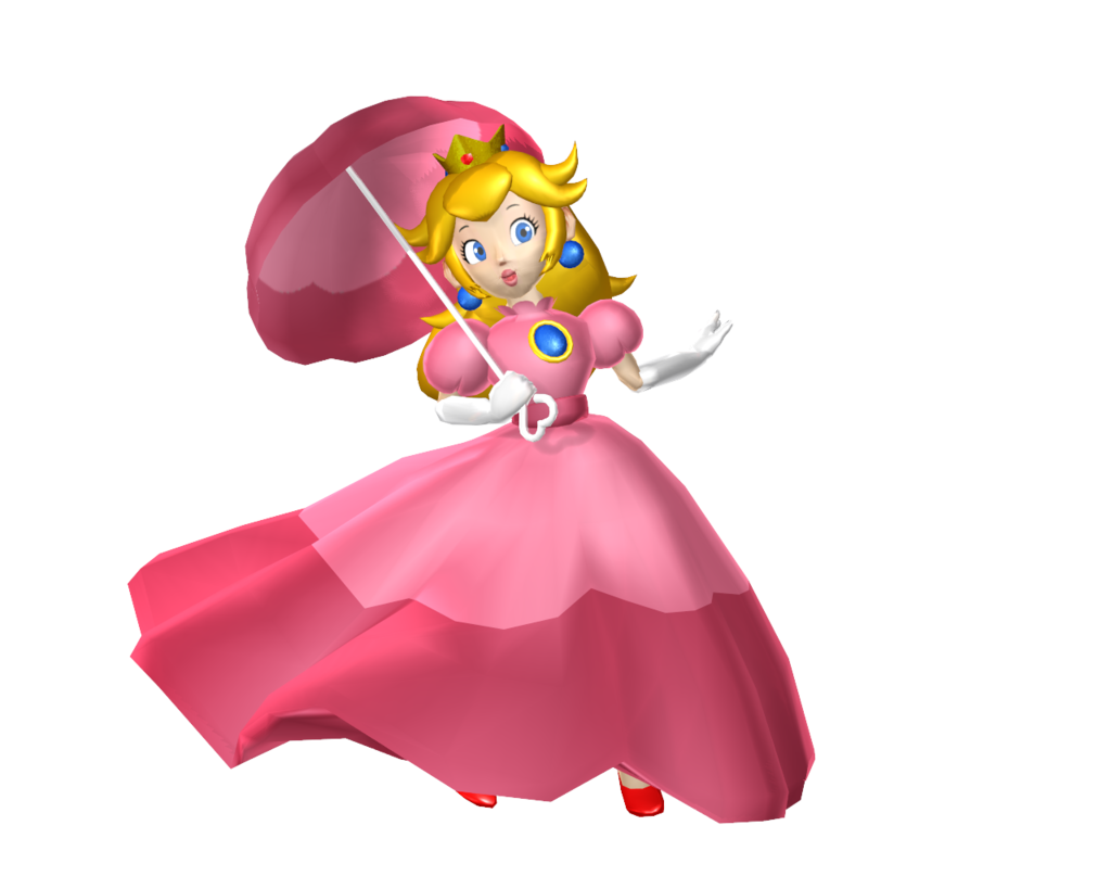 Princess Peach Transparent