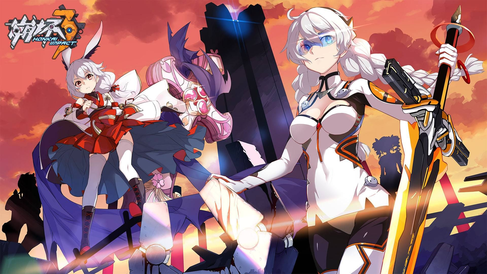 Kiana honkai impact 3 | Honkai Impact | Anime art ...