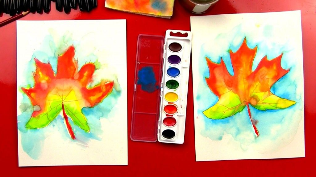 How To Paint With Watercolor (For Kids)   crafty stuff   Pinterest
