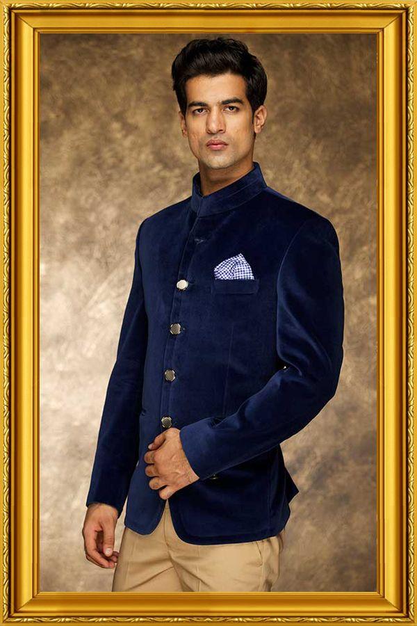 Buy Bandhgala Suits, Men Designer Suit, Bandhgala Waistcoat and ...