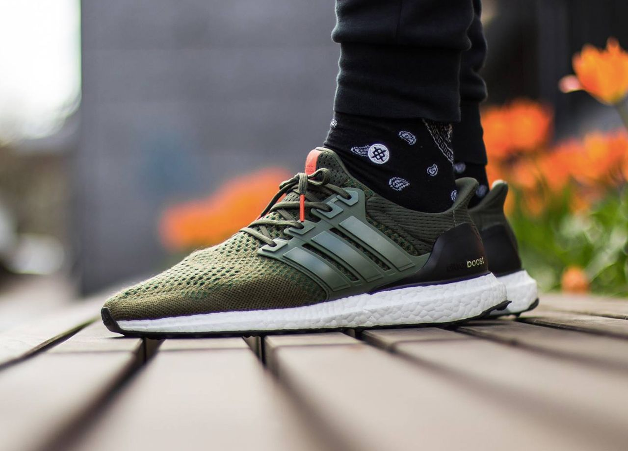 best sneakers de3ae ab25e ultra boost men green  adidas ultra boost olive (by villalobos105)