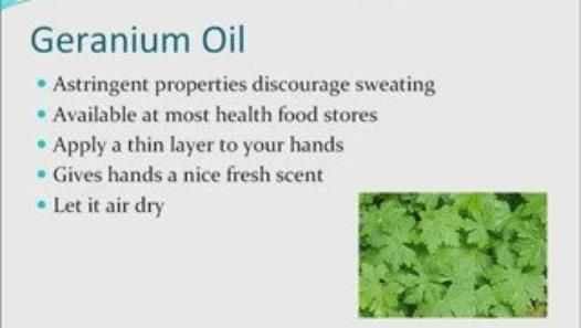 2 Essential Oils To Stop Excessive Hand Sweating