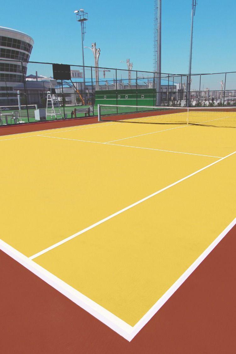 Tennis Court Color Court Flooring Tennis Tennis Court