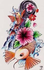 Resultado de imagen de japanese flower tattoo