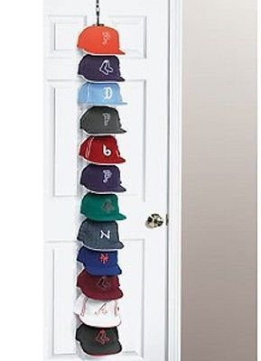 Cap Holder Baseball Rack Hat Storage Organizer Caprack Door New Closet  Hanger