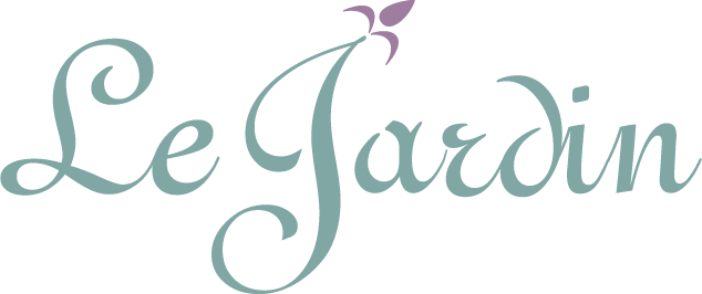 Le Jardin a Utah wedding reception center logo