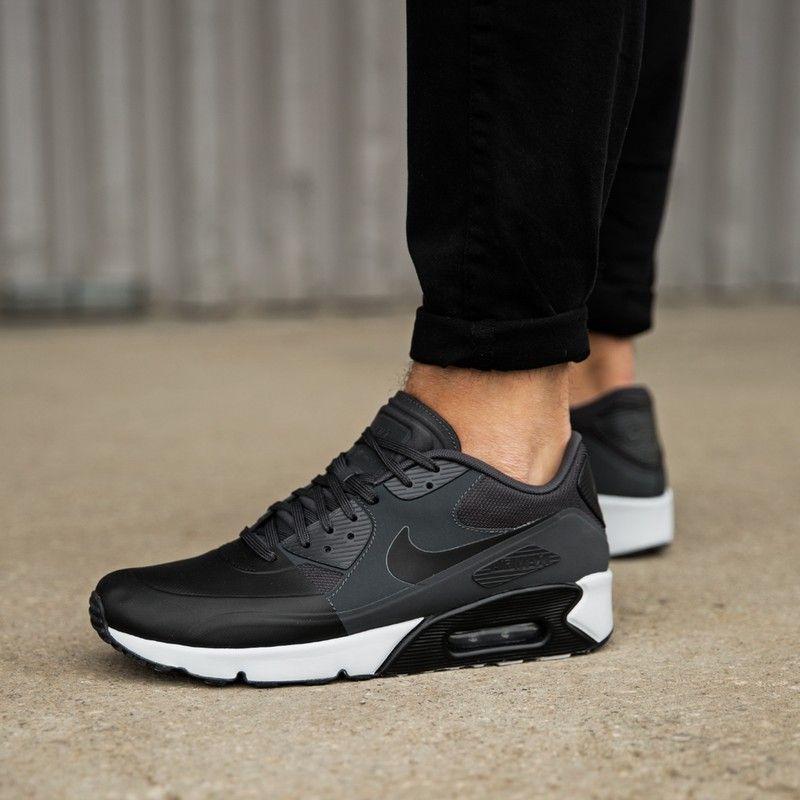 Buty Nike Air Max 90 Essential męskie całe czarne All Black 537384090 ▷ Sklep Sizeer
