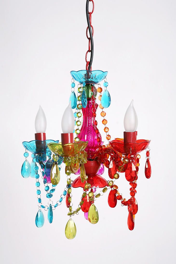 Funky chandelier 2 rainbow things pinterest casa campo funky chandelier 2 aloadofball Choice Image