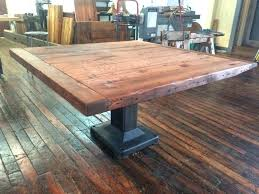 Square Dining Table Pedestal Base Google Search With Images