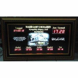 Jam Digital Masjid Jual Jadwal Sholat Digital Otomatis Murah