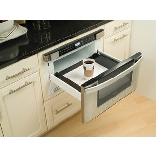 House Sharp Insight Pro Series Built In 24 Inch Microwave Drawer