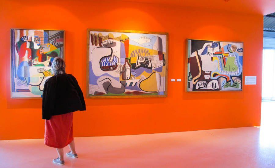 Marsiglia 2013,Le Courbusier, gli anni della maturità, dal 1945 al 1965.