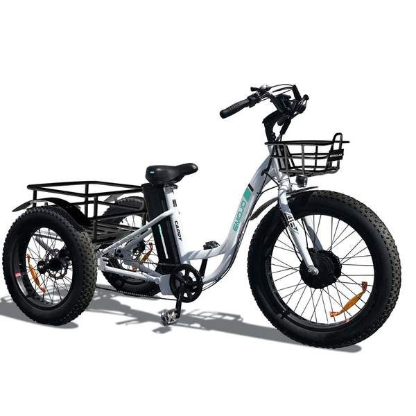 Emojo Caddy Electric Bike In 2020 Electric Tricycle Electric Trike Electric Bike