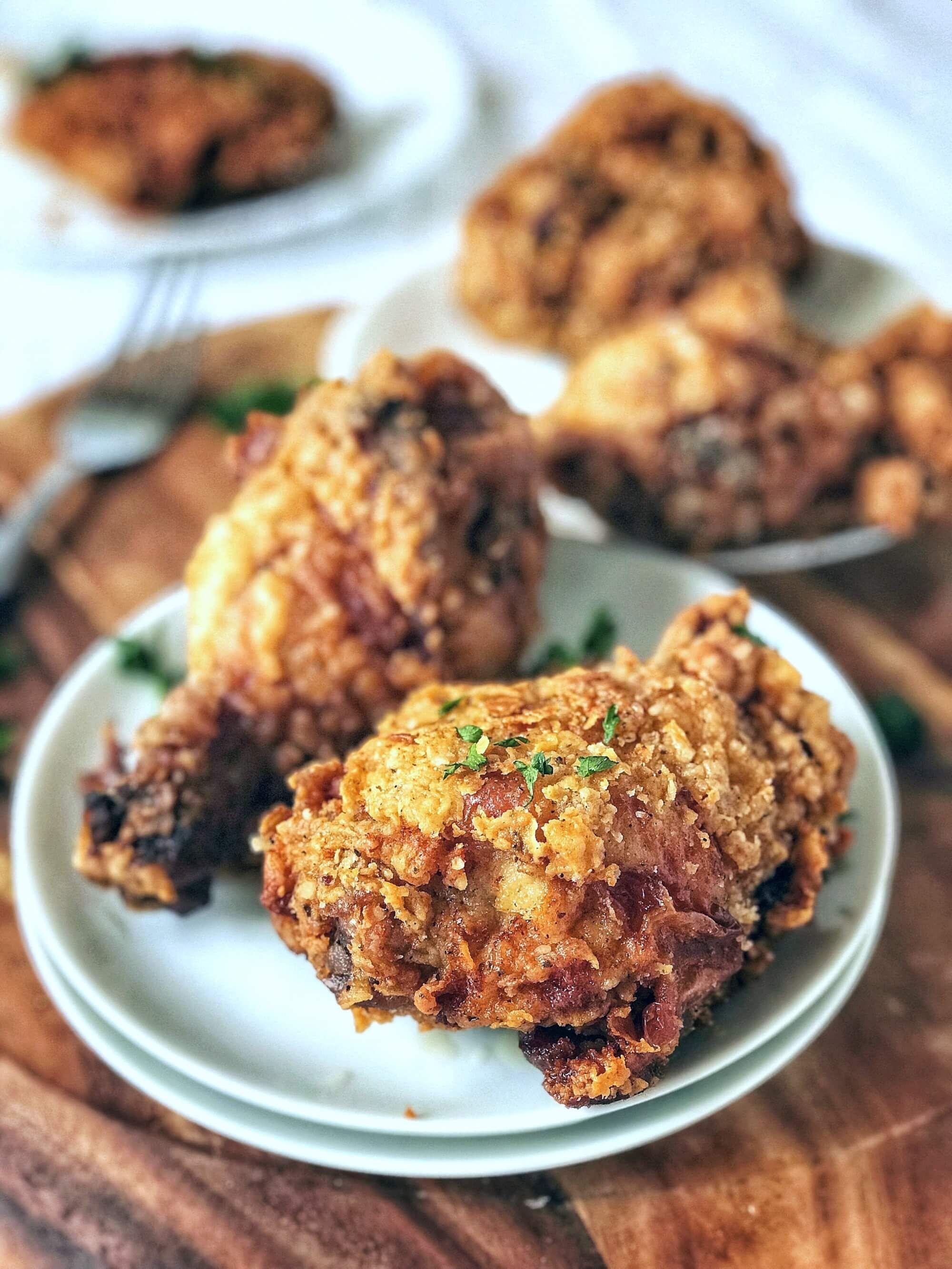 Buttermilk Brined Southern Fried Chicken Recipe Food Chicken