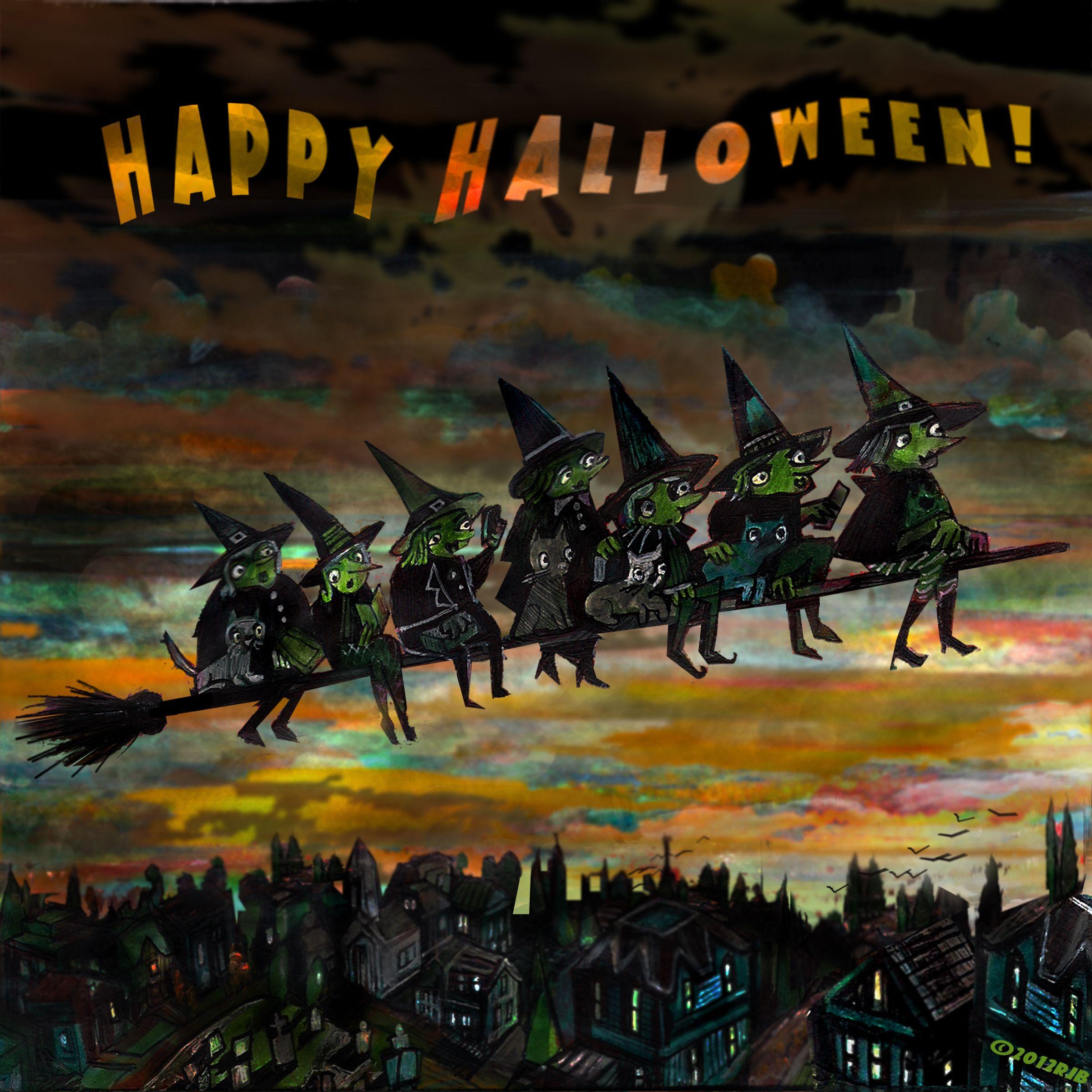 Happy Halloween! ©2012 Richard J. Bailey Happy halloween