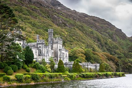 Google+  Kylemore Abbey in County Galway, Ireland