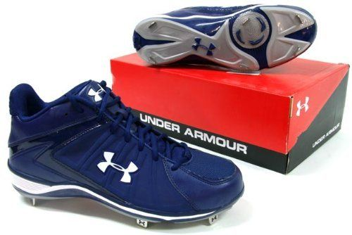 bb109f0d333 Under Armour Ignite Mid Mens Metal Baseball Cleats Blue 13 by Under Armour.   34.95. Get the game going in the Under Armour Ignite ST baseball shoe.