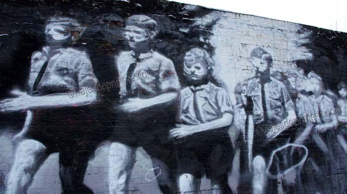 El East Side Gallery, uno de los tramos más populares que aún quedan en pie del Muro de Berlín.