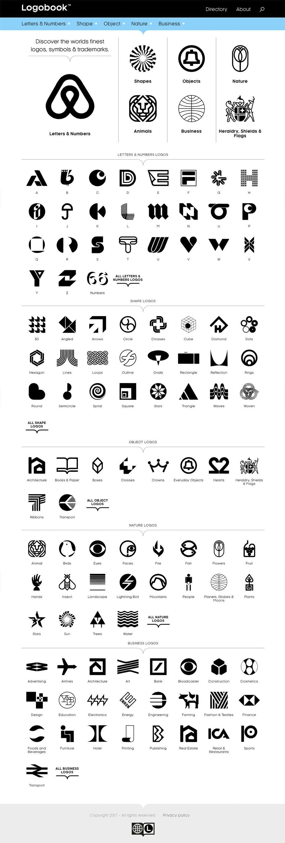 Logobook archives the finest old and new logos | Logo Design Love