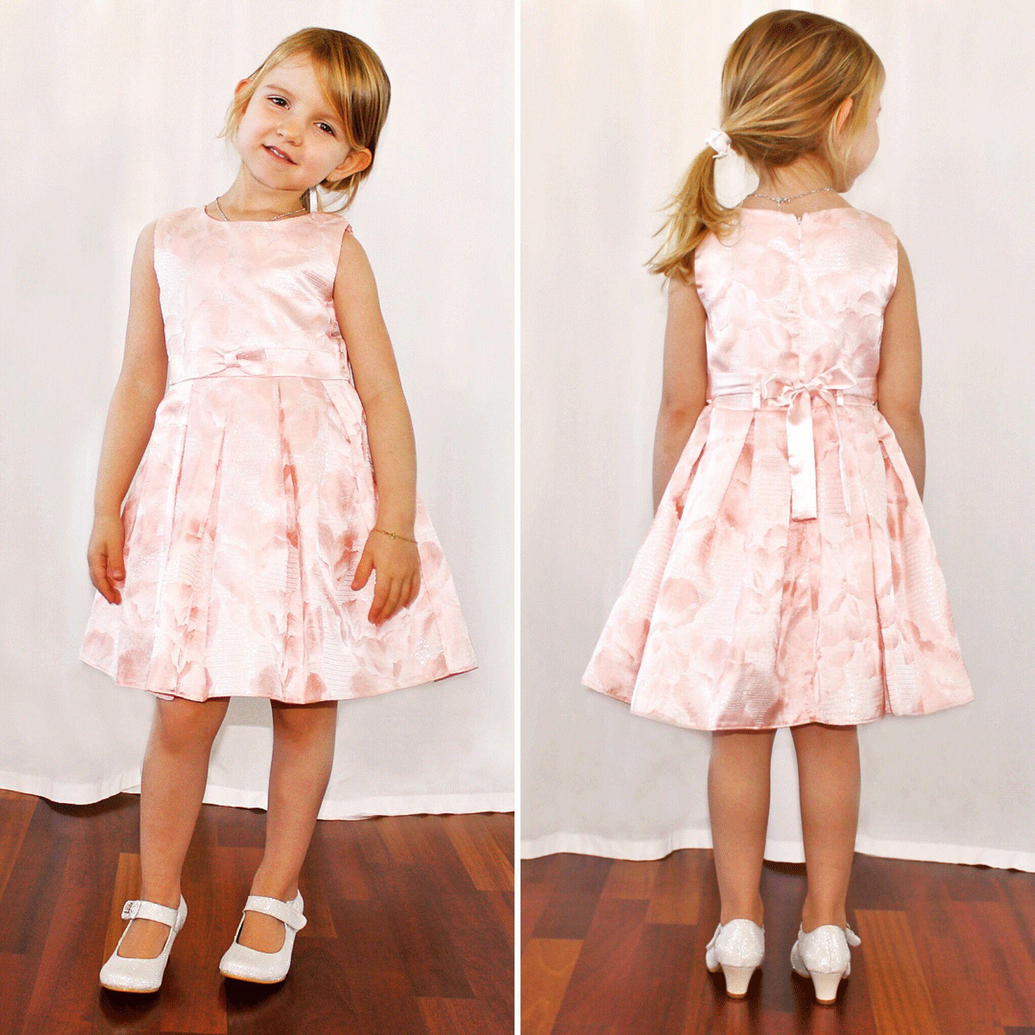 blumenmädchenkleid in rosa | blumenmädchenkleid, brautmode