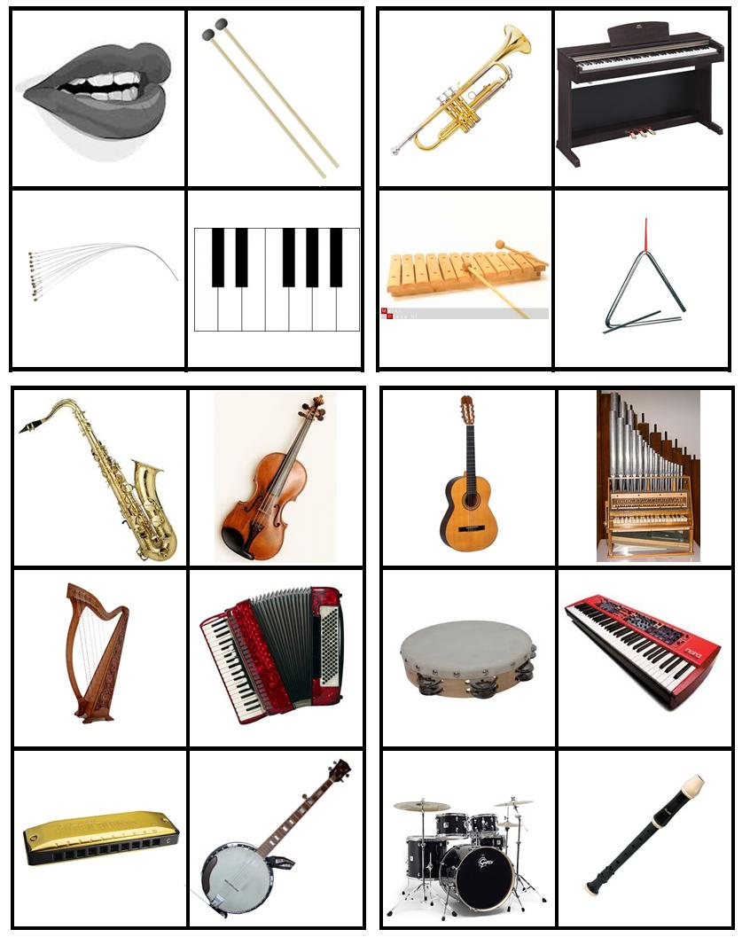 matrix muziek sorteren op soort instrument blaas slag