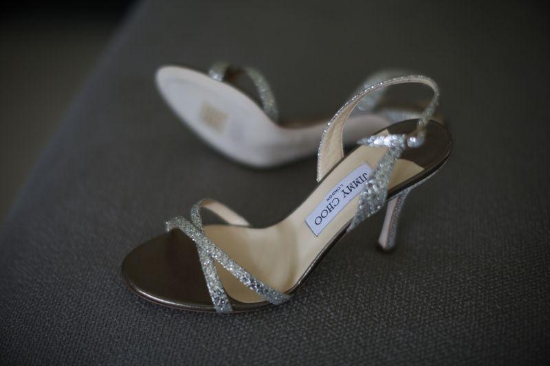 Glittering Jimmy Choo Sandals