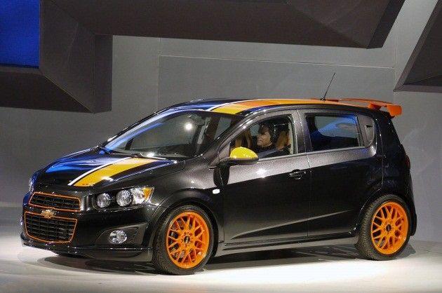 Z Spec Chevy Sonic Concept Carros Adesivados Carros Auto