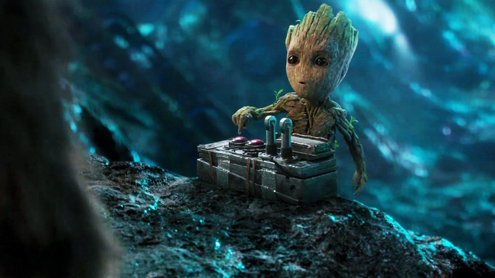 Groot Papeis De Parede Hd Planos De Fundo Wallpaper Guardians Of The Galaxy Guardians Of The Galaxy Vol 2 Baby Groot
