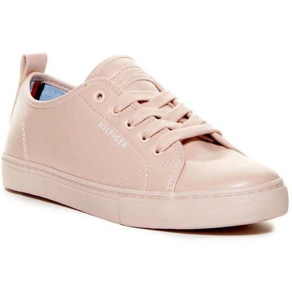 Tommy HilfigerLIGHT WEIGHT LACE UP - Trainers - pink 0i4ap6