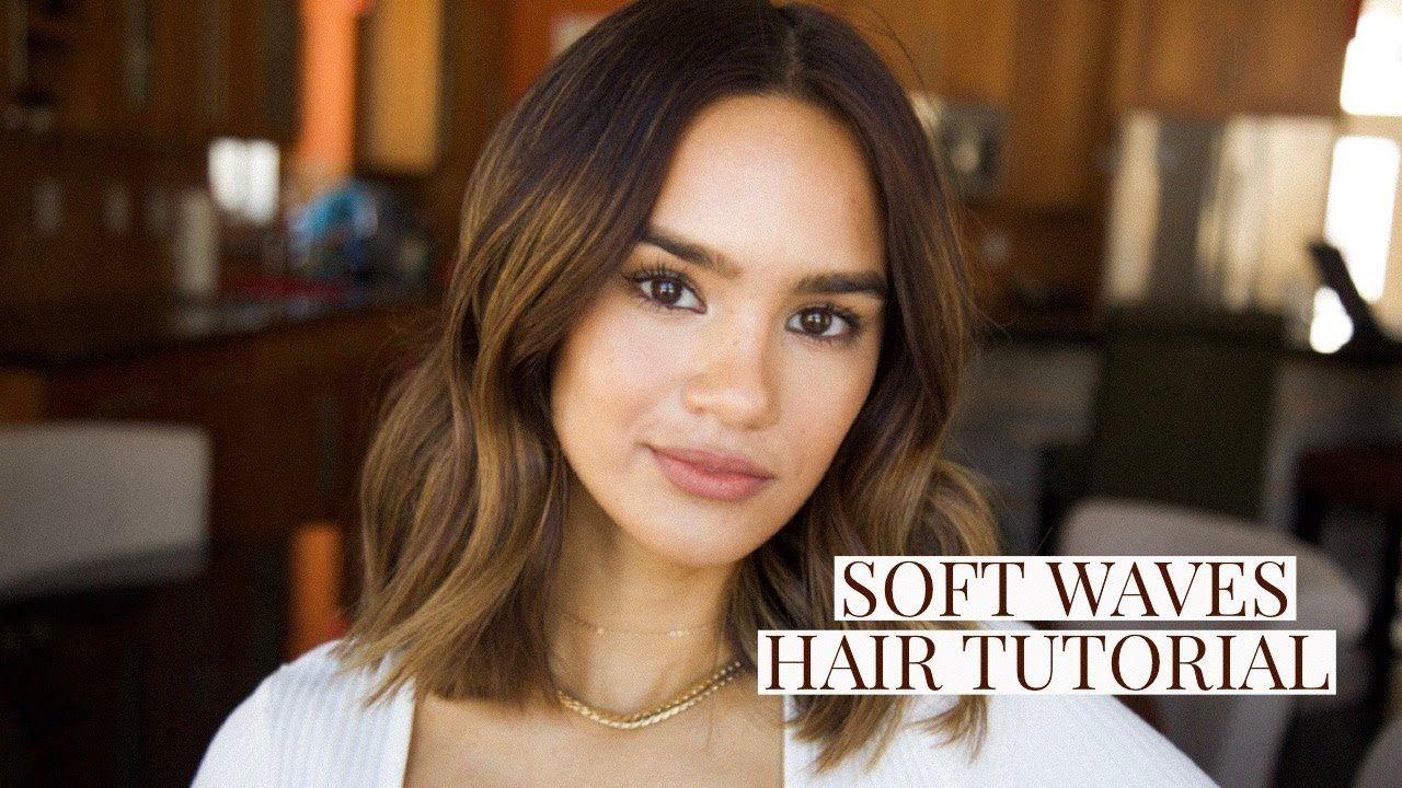 Soft Bendy Waves Hair Tutorial Short Hair Dacey Cash Waves Hair Tutorial Wavy Hairstyles Tutorial Hair Tutorial