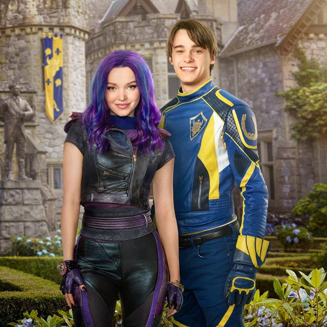 "Descendants Wicked on Instagram: ""#descendants3 #descendants2 #descendants #disney #dovecameron #mitchellhope"""