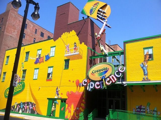A Review of The Crayola Experience - Easton, PA