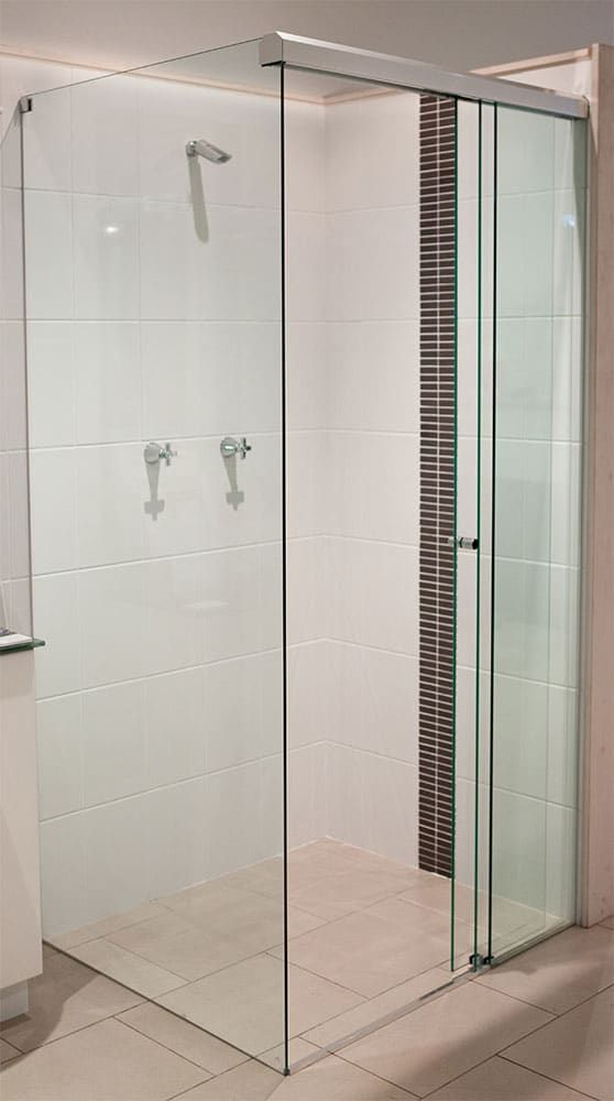 custom cut frameless shower screens sydney palmers glass ideas for rh pinterest com