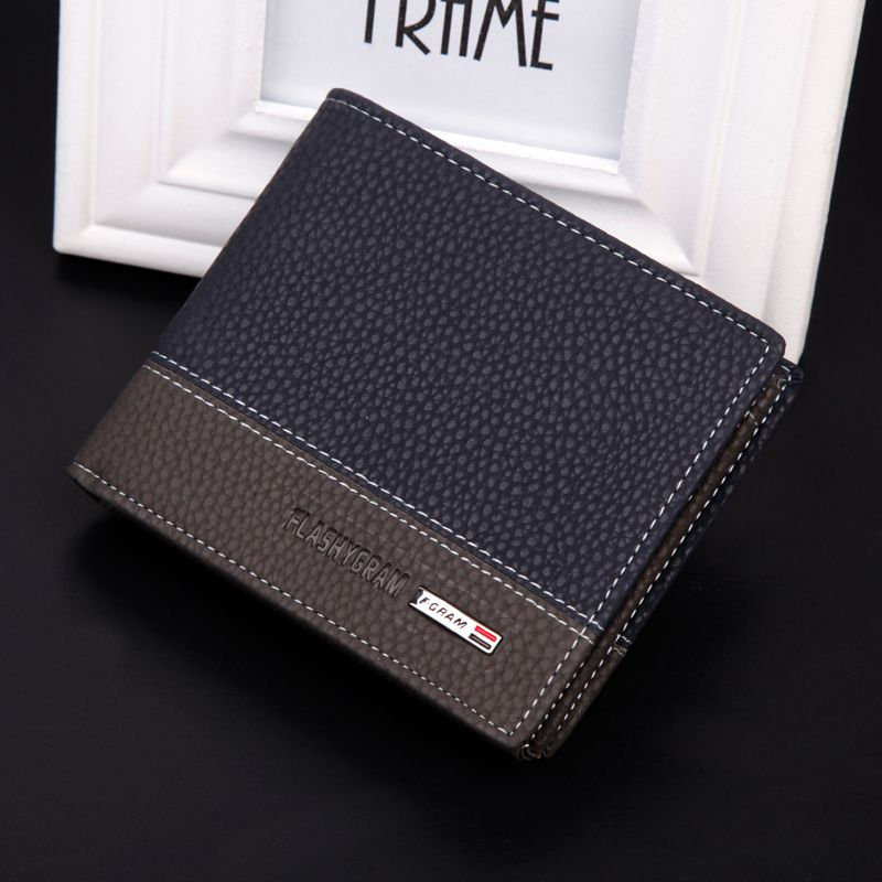 2014 New fashion brand wallet men\'s wallet High Quality PU leather ...