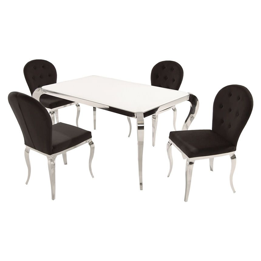 Eldorado Furniture  Dining Room Table & Chairs  Shayne Glamorous Eldorado Dining Room Inspiration