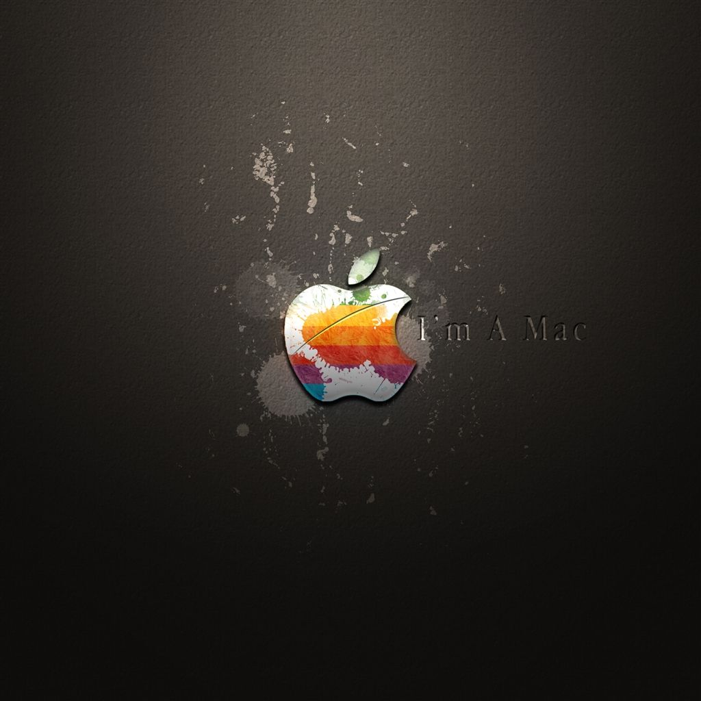 I Am A Mac Ipad Air Wallpapers With Images Apple Logo