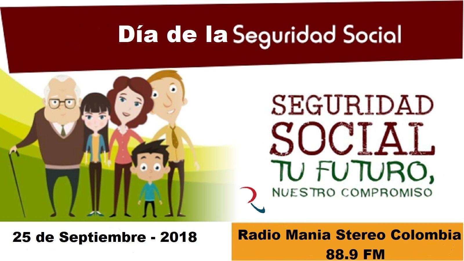 Dia De La Seguridad Social 2018 Con Imagenes Seguridad Social