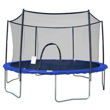 Airzone 10 Feet Spring Trampoline With Enclosure Walmart Com