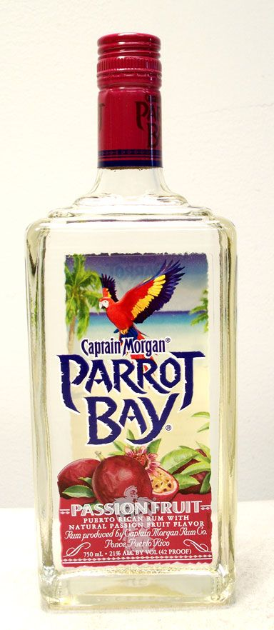 Captain Morgan Passion Fruit Rum Drinks