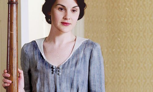 Downton Abbey costume details via Downton Obsession