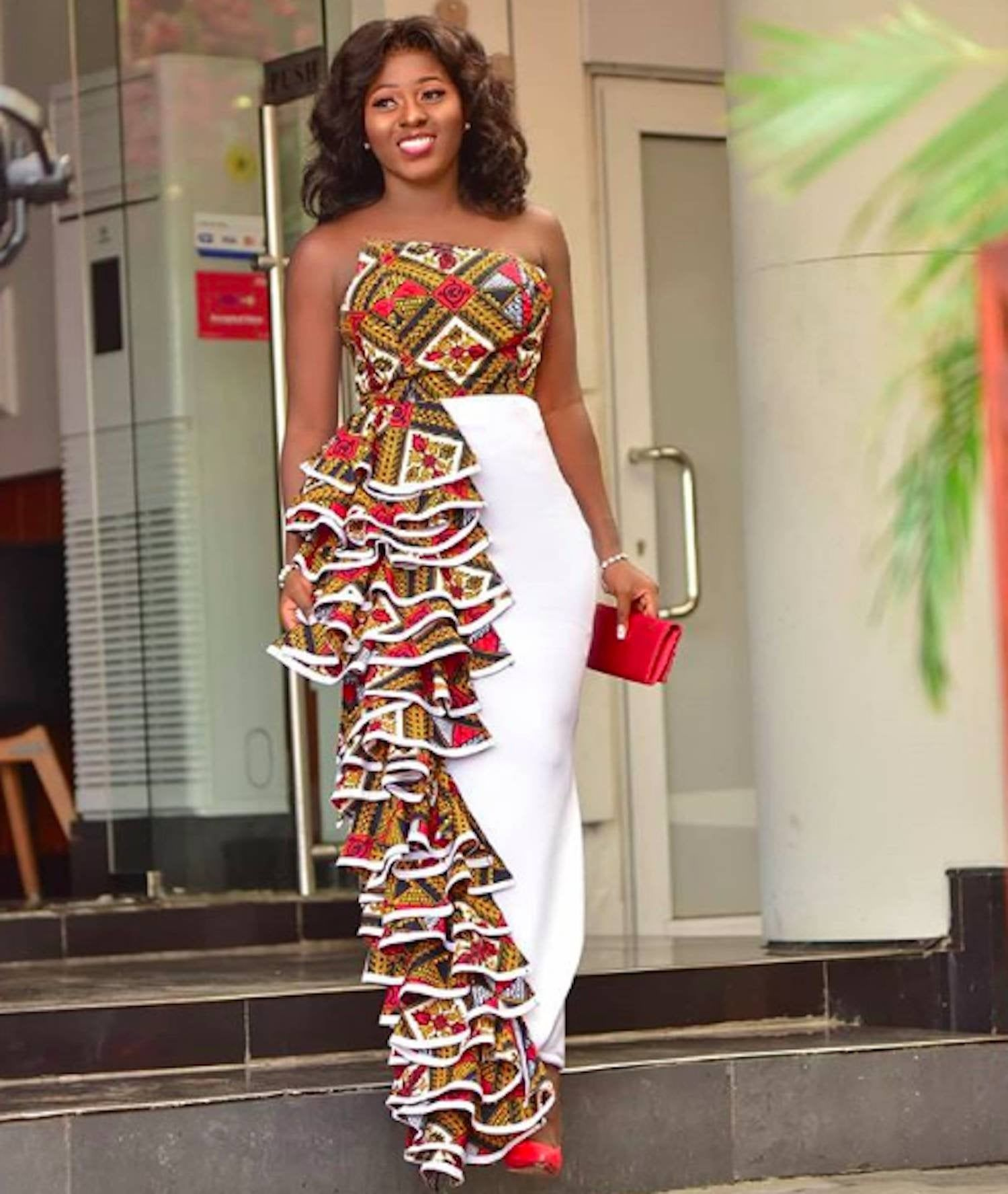 African Print Jumpsuit Strapless Dress - Ankara Print - African Dress - Ankara Dress - Handmade - Af #kitengedesigns