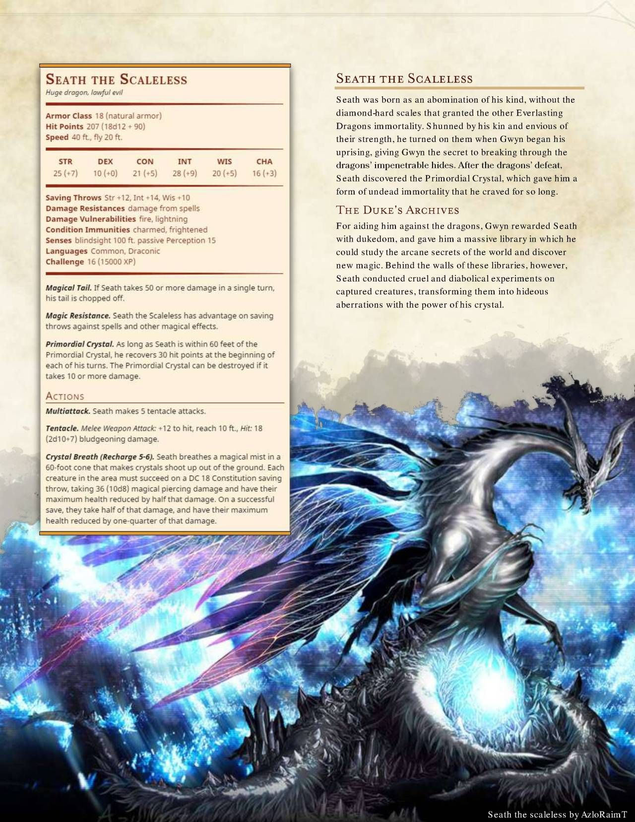 dnd 5e homebrew � darksouls monsters part 2 by
