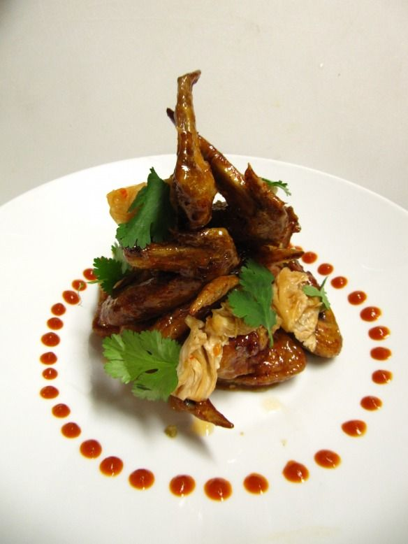 Fine Plating Chicken Wings Main Course Dishes Food