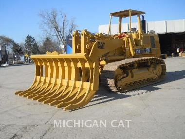 Caterpillar Track Loader Specifications for 1987
