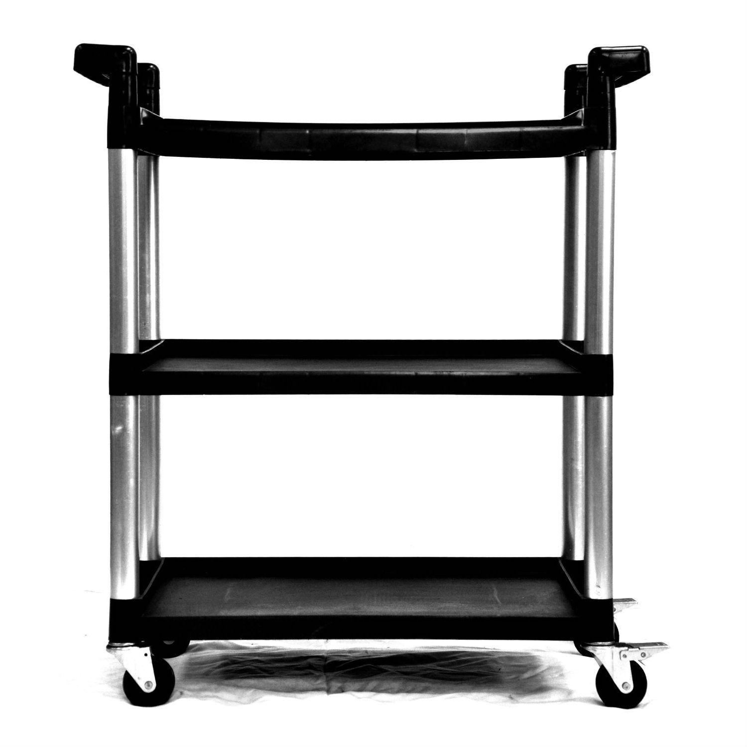 Trinity S Utility Cart Is Perfect For Any Garage Warehouse Office Or Kitchen With Its High Injection Molded Pp And Lightweight Aluminum Legs This