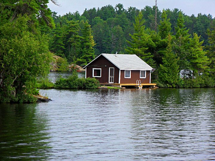 Boathouse On Clearwater Lake Burditt Lake Emo Ontario Canada Clearwater Lake Lake Living Lake