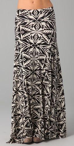Rachel Pally Womens Long Full Skirt