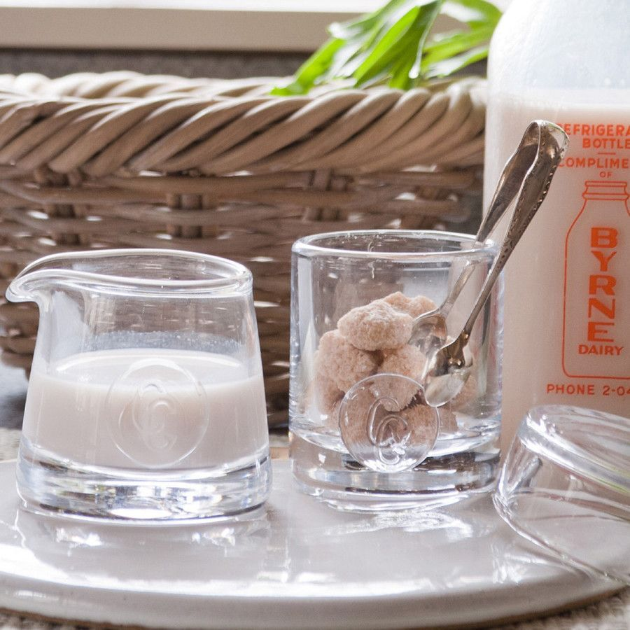 Sugar & Creamer Set