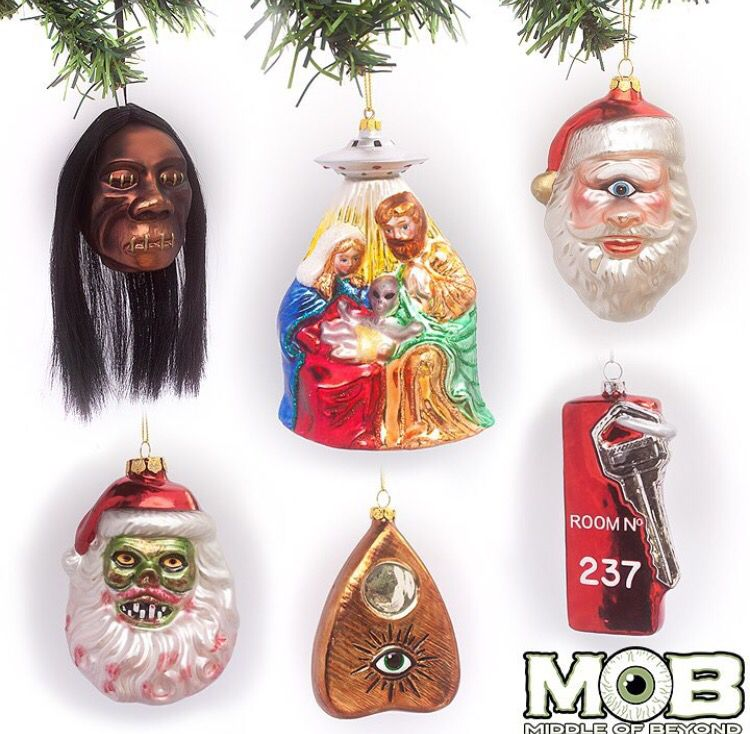 Horror Christmas Ornaments.Awesome Christmas Ornaments Horror Scary Christmas Dark