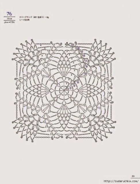 Pin de Sagrario Contreras en Punto y Crochet | Pinterest